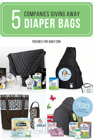 5 Free Diaper Bags Filled With Free Baby Stuff