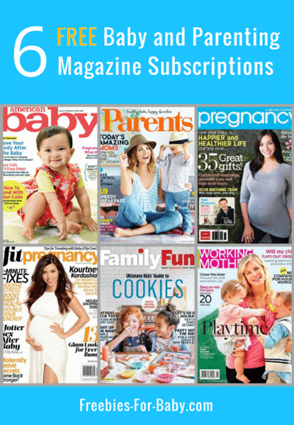 6 Free Baby Magazines + Parenting Magazine Subscriptions