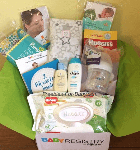 Free Amazon Baby Welcome Box - $35 value!