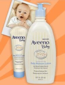 Pregnancy Freebies - Free Aveeno Baby Lotion