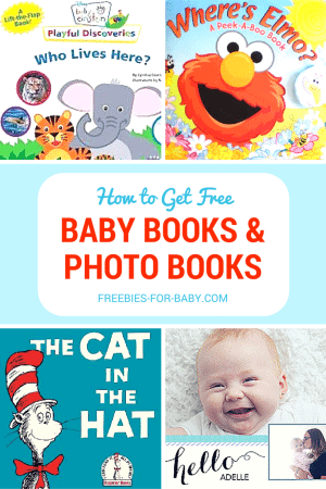 HUGE List of Free Baby Books - Dr. Seuss, Baby Einstein, Elmo.  Free Baby Photo Books too!