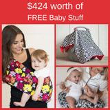 $424 worth of Free Baby Stuff