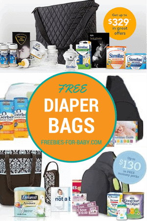 5 Free Diaper Bags by Mail