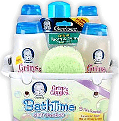Get your FREE Gerber Product Samples, Gifts and Coupons (Scroll down, Click on