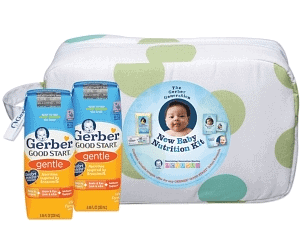 Free Gerber New Baby Nutrition Kit