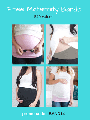 Free Maternity Band - $39.95 value! Use code: BAND14 at checkout.
