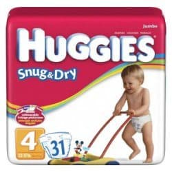 Free Huggies Diapers for Expecting Moms