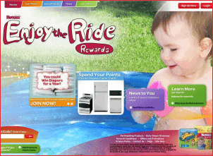 Free Diapers from Huggies - Earn free diapers with Huggies Enjoy the Ride Rewards program