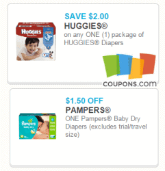 Printable Baby Coupons from Coupons.com