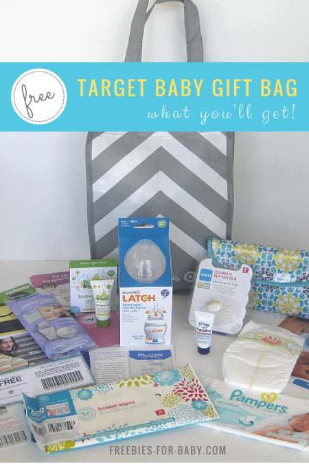 Free Target Baby Registry Gift Bag - what you'll get!
